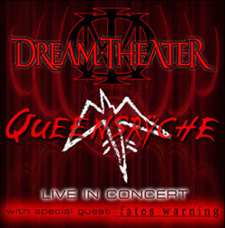 Турне Dream Theater / Queensryche / Fates Warning